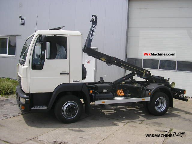 2003 MAN L 2000 8.145 Truck over 7.5t Roll-off tipper photo