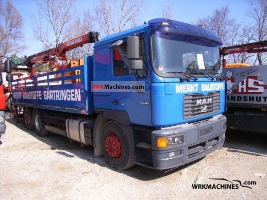 2000 MAN LION´S STAR 464 Truck over 7.5t Stake body photo