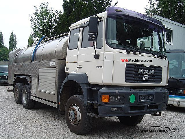 2000 MAN LION´S STAR 464 Truck over 7.5t Tank truck photo