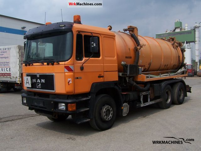 1994 MAN F 90 26.422 Truck over 7.5t Vacuum and pressure vehicle photo