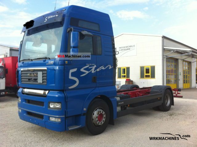 2006 MAN TGA 18.440 Truck over 7.5t Stake body and tarpaulin photo