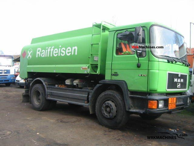 1992 MAN M 90 18.272 Truck over 7.5t Tank truck photo