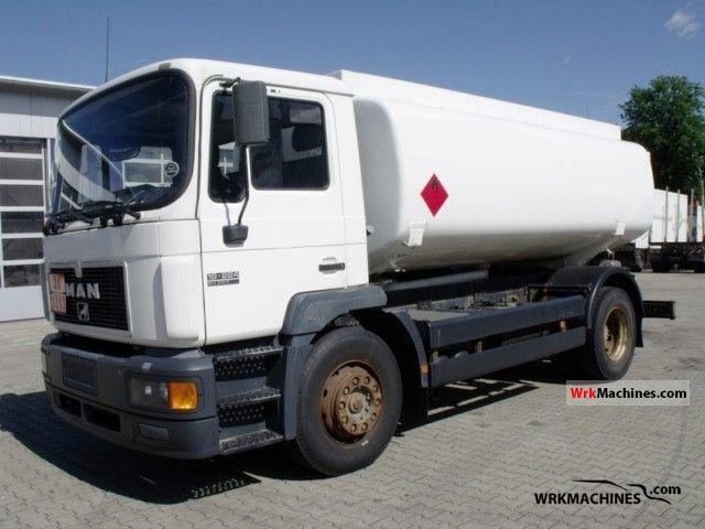 1998 MAN M 2000 L 18.224 Truck over 7.5t Tank truck photo