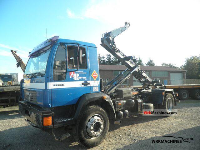 2002 MAN M 2000 L 280 Truck over 7.5t Roll-off tipper photo