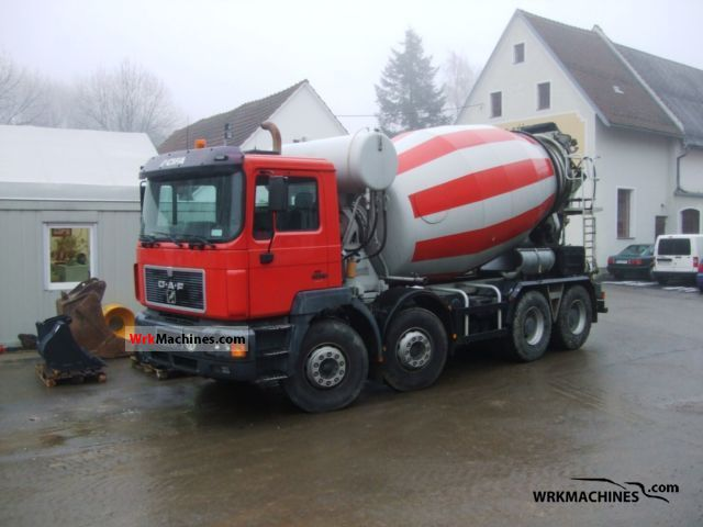 1997 MAN F 2000 35.403 Truck over 7.5t Cement mixer photo