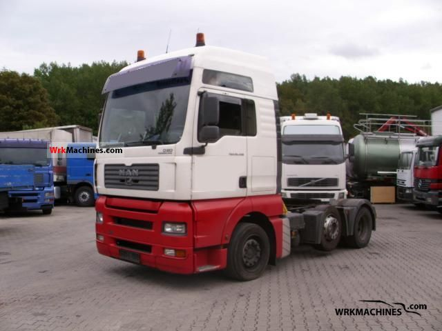 2005 MAN TGA 26.430 Semi-trailer truck Heavy load photo