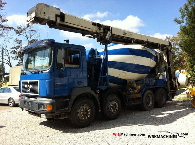 1998 MAN F 2000 32.403 Truck over 7.5t Cement mixer photo