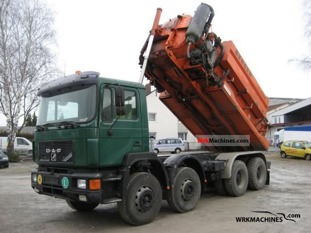 1994 MAN F 90 41.422 Truck over 7.5t Chassis photo