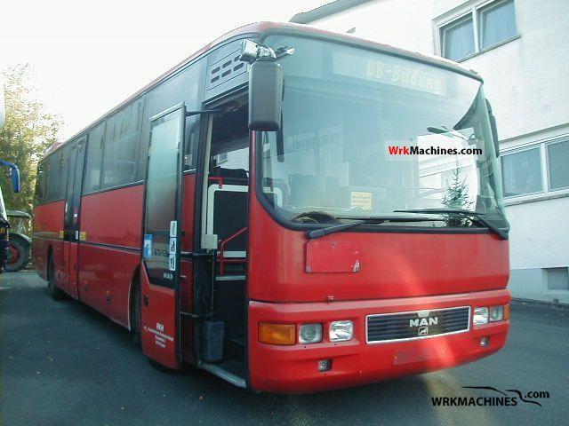 1998 MAN ÜL ÜL 313 Coach Public service vehicle photo