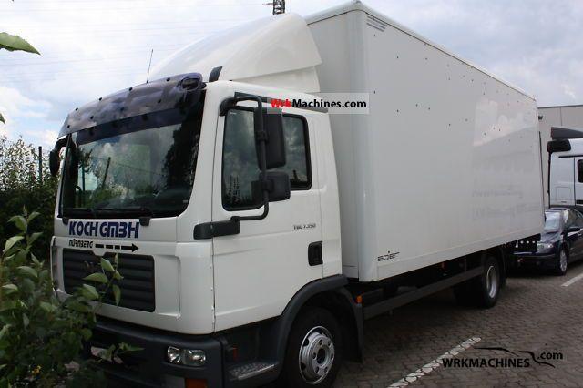2009 MAN TGL 7.150 Van or truck up to 7.5t Box photo