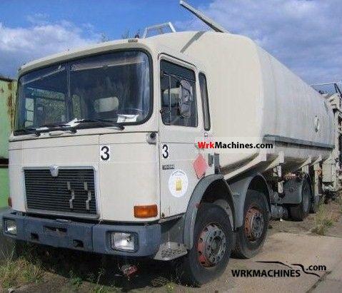 1982 MAN SG 240 Truck over 7.5t Tank truck photo