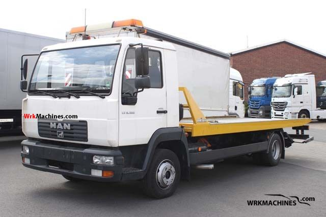 2005 MAN TGL 8.180 Van or truck up to 7.5t Car carrier photo