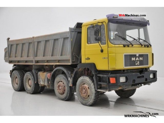 1994 MAN F 90 35.402 Truck over 7.5t Tipper photo