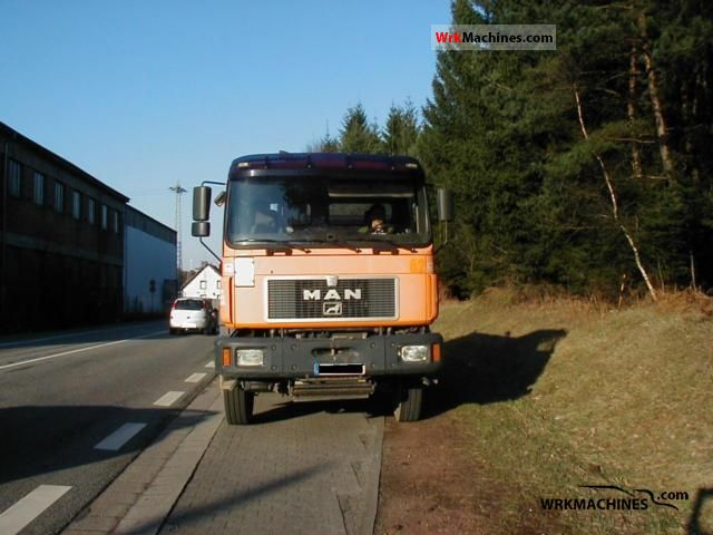 1998 MAN F 2000 27.403 Truck over 7.5t Three-sided Tipper photo
