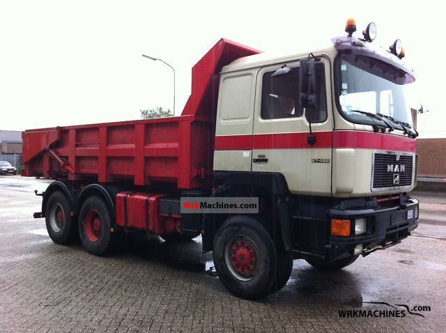 1994 MAN LION´S STAR 422 Truck over 7.5t Tipper photo