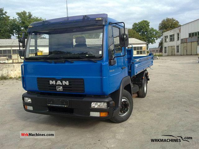 2005 MAN L 2000 8.150 Van or truck up to 7.5t Tipper photo