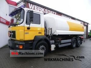 1996 MAN F 2000 26.343 Truck over 7.5t Tank truck photo