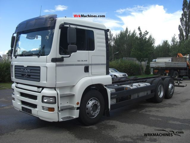 2006 MAN TGA 26.440 Truck over 7.5t Chassis photo