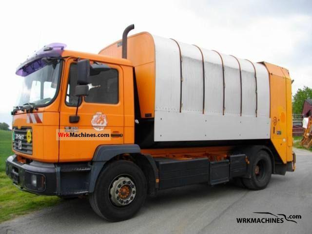 2001 MAN M 2000 L 18.255 Truck over 7.5t Refuse truck photo