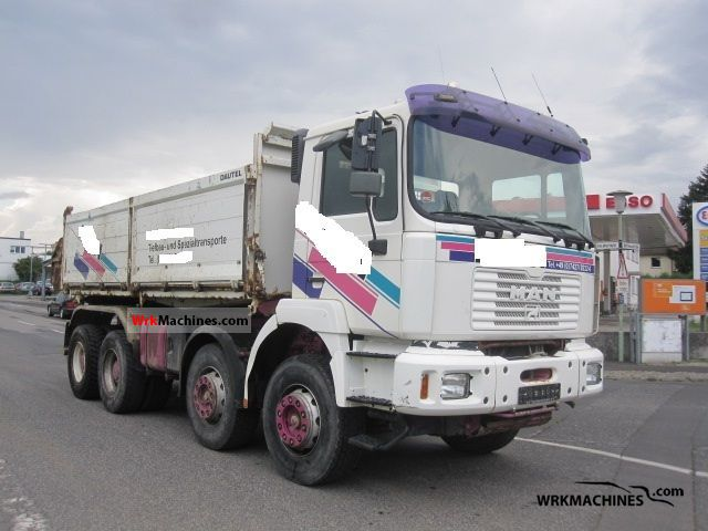2001 MAN LION´S STAR 414 Truck over 7.5t Tipper photo