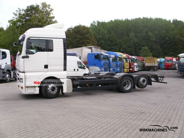 2007 MAN TGA 26.400 Truck over 7.5t Chassis photo
