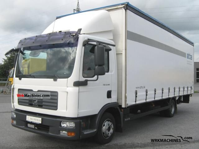 2008 MAN TGL 8.180 Van or truck up to 7.5t Stake body photo