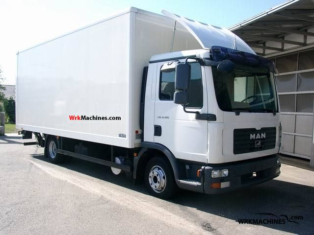 2008 MAN TGL 8.180 Van or truck up to 7.5t Box photo