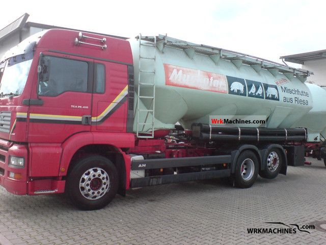 2003 MAN TGA 26.410 Truck over 7.5t Food Carrier photo