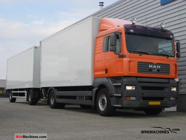 2005 MAN TGA 18.350 Truck over 7.5t Box photo