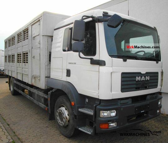 2008 MAN TGM 18.330 Truck over 7.5t Horses photo