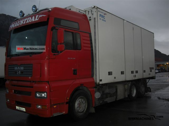 2006 MAN TGA 26.530 Truck over 7.5t Refrigerator body photo