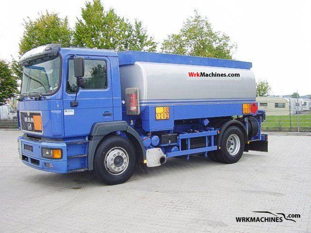 1999 MAN F 2000 19.414 Truck over 7.5t Tank truck photo