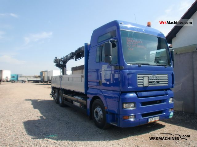 2001 MAN F 2000 26.463 Truck over 7.5t Stake body photo
