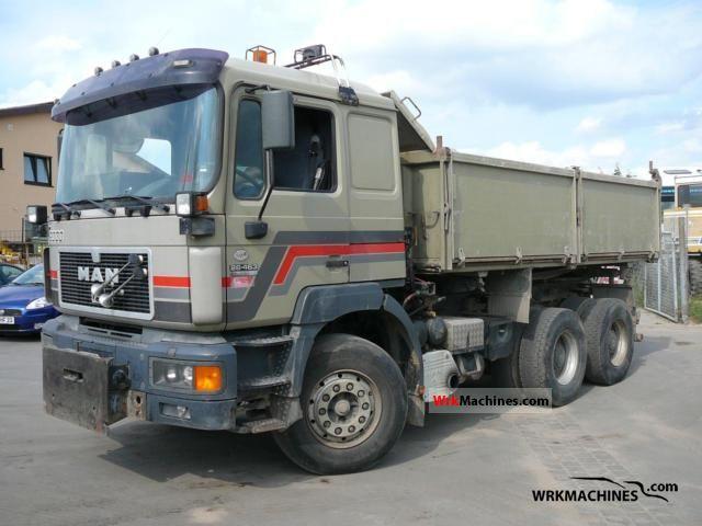 1997 MAN F 2000 26.463 Truck over 7.5t Tipper photo