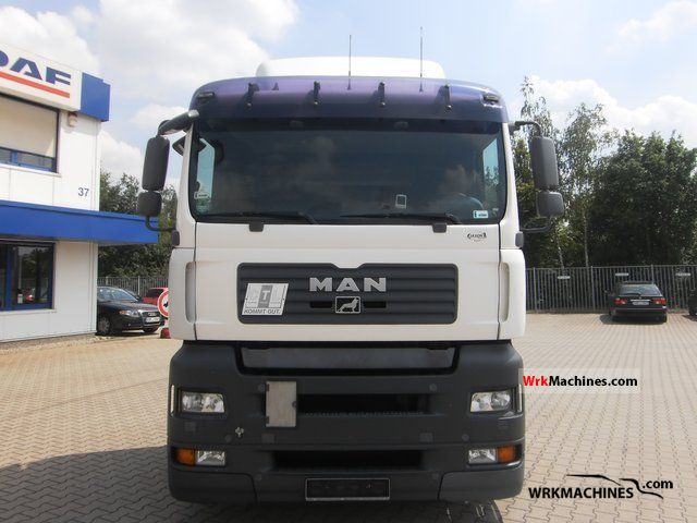 2007 MAN TGA 18.440 Semi-trailer truck Volume trailer photo