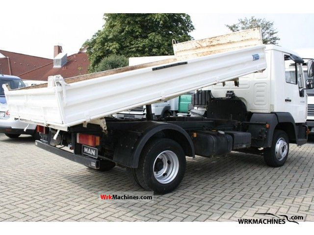 2005 MAN TGL 8.180 Van or truck up to 7.5t Tipper photo
