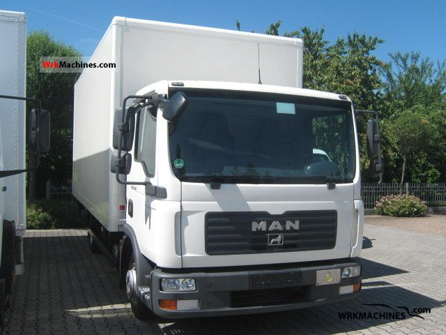 2008 MAN TGL 7.150 Van or truck up to 7.5t Box photo