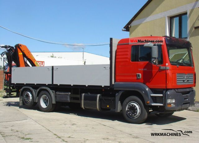 2003 MAN TGA 26.413 Truck over 7.5t Truck-mounted crane photo