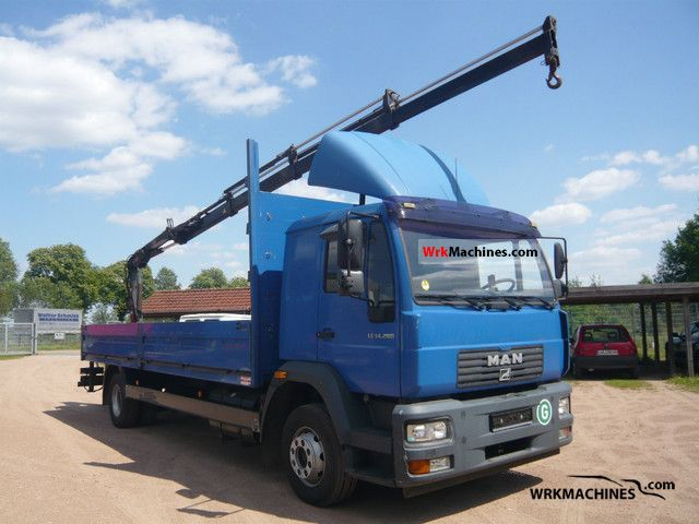 2004 MAN M 2000 L 280 Truck over 7.5t Stake body photo