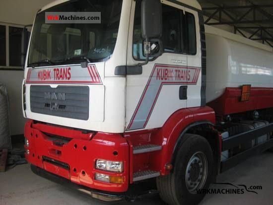2003 MAN TGA 18.360 Truck over 7.5t Tank truck photo