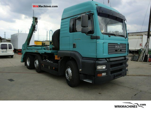 2004 MAN TGA 26.430 Truck over 7.5t Dumper truck photo