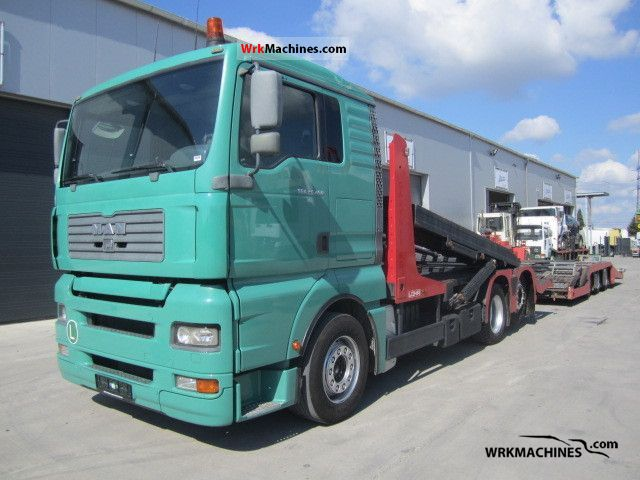 2003 MAN TGA 26.460 Truck over 7.5t Car carrier photo