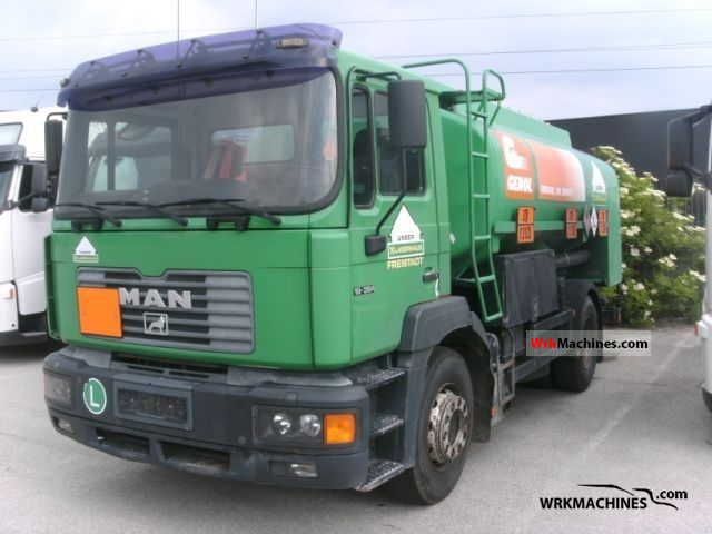 2000 MAN F 2000 19.364 Truck over 7.5t Tank truck photo