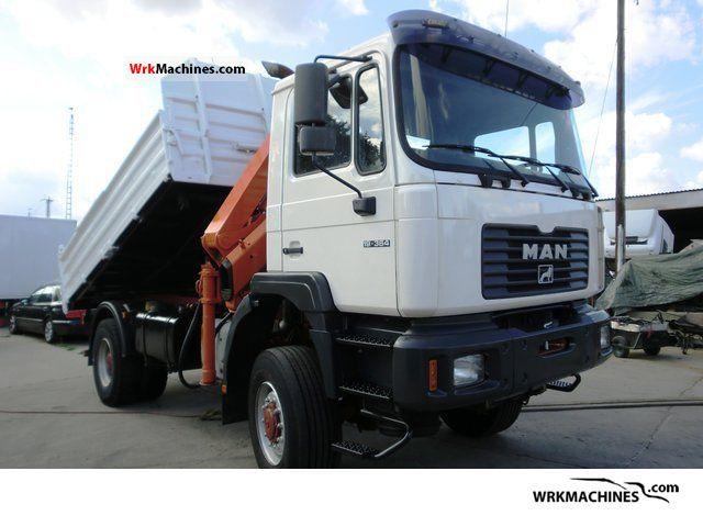 1999 MAN F 2000 19.364 Truck over 7.5t Tipper photo
