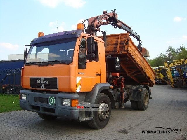 2000 MAN M 2000 L 18.284 Truck over 7.5t Three-sided Tipper photo