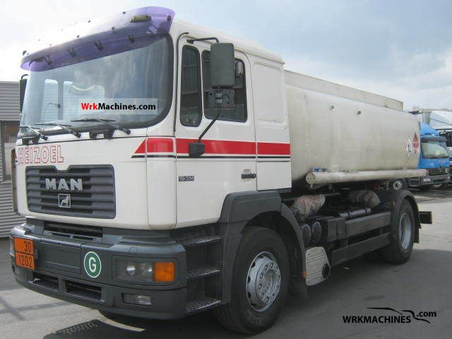 2001 MAN F 2000 19.314 Truck over 7.5t Tank truck photo