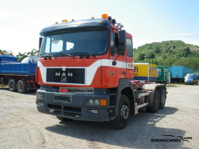 1998 MAN F 2000 26.603 Truck over 7.5t Roll-off tipper photo