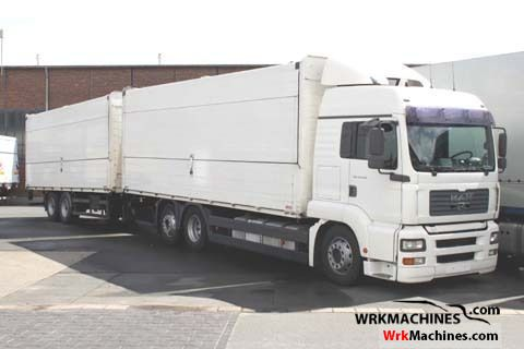 2004 MAN TGA 26.413 Truck over 7.5t Car carrier photo