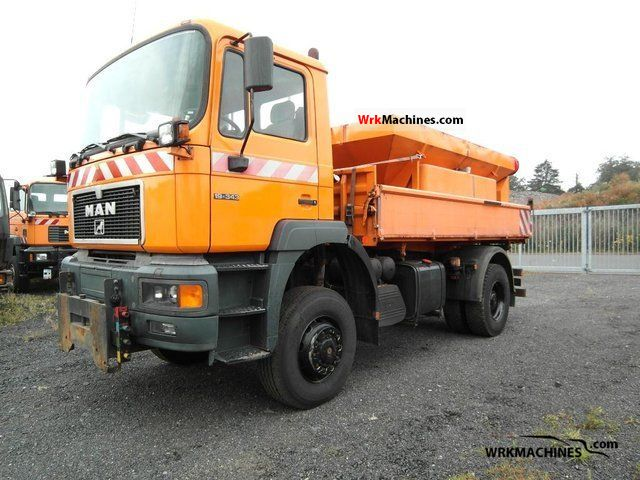 1997 MAN F 2000 19.343 FAK Truck over 7.5t Tipper photo