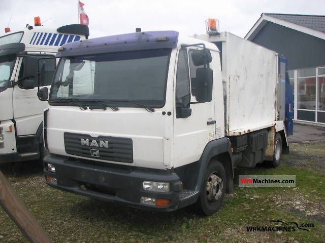 2004 MAN L 2000 10.185 Truck over 7.5t Refuse truck photo